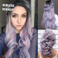 wig ombre wig lurus wig curly wig panjang wig wave 01