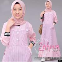 Gamis Anak Usia 10-12 Thn Baju Muslim Anak Perempuan Syari ZAHWA DRESS