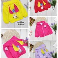jaket anak perempuan kelinci lucu berkualitas