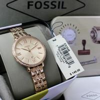 Jam Tangan Wanita Fossil Jacqueline ES-3546 Rose Gold