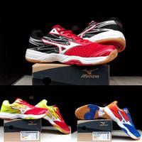 sepatu badminton Mizuno catalyst import Vietnam - Merah, 40
