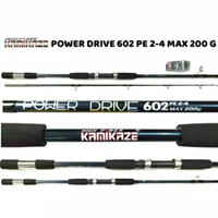 joran pancing kamikaze power drive jig 602 pe 2-4 murah semarang