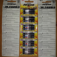 BATERAI ABC SUPER POWER AAA RENCENG ( ISI 6 PACK)