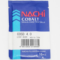 mata bor nachi hss-co twist drill 4.0mm shank drill bits hss cobalt