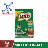 milo active go 1kg /susu bubuk coklat