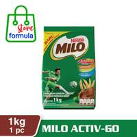 milo active go 1kg susu bubuk coklat