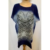 baju atasan wanita jumbo blouse big xxl top blus bali adem daster baru