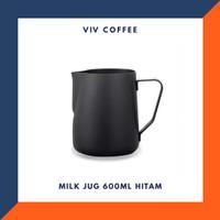 Milk Jug 600ml Stainless - Hitam