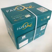 kertas HVS A4 75 gram Paper One [1 box = 5 rim] GOJEK/GRAB Bandung