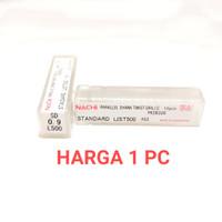 mata bor nachi twist drill 0.9mm shank bits drill besi pararel