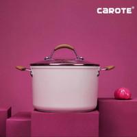 Carote Bio-Pink Soup Panci With Lid 22 Cm