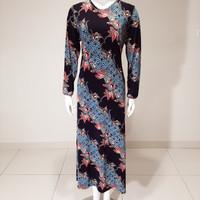 baju gamis muslim wanita jumbo terbaru/ baju gamis kaos murah
