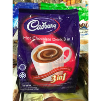 COKLAT BUBUK CADBURY HOT CHOCOLATE DRINK 3in1 COKLAT CADBURY MALAYSIA
