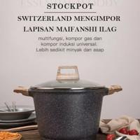 Carote Stock Pot Panci With Lid 24 Cm