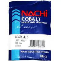 mata bor nachi hss-co twist drill 4.5mm shank drill bits hss cobalt