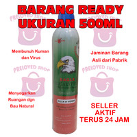 (500ml)ready langsung kirim eagle disinfectant eucalyptus spray 500 ml