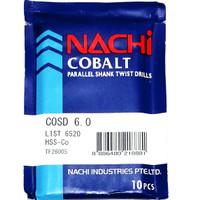 mata bor nachi hss-co twist drill 6.0mm shank drill bits hss cobalt