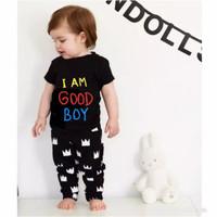 SETELAN BAJU ANAK LAKI LAKI Good Boy 1 - 7 Tahun Baju Anak Laki laki