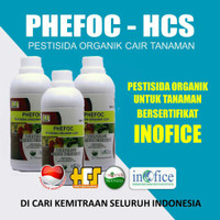 2 BOTOL obat hama obat kutu dan penyakit tanaman organik PHEFOC HCS