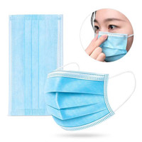 Masker medis 3ply isi 50/ surgical mask / masker bedah / masker dokter