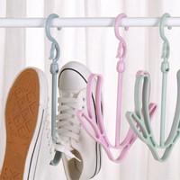 Gantungan Jemuran Sepatu Magic Hanger Serbaguna