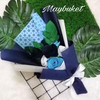 Premium buket bunga ready stock hadiah kalo wisuda birthday anniversar
