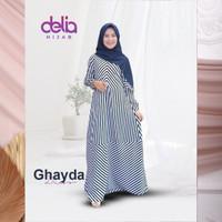 Baju Gamis Syar'i Modern - Ghayda Dress - Delia Hijab