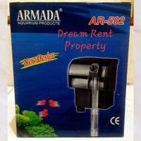 Hanging Filter Aquarium Akuarium 3in1 Armada AR-502 502