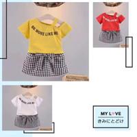 Baju Setelan Anak Perempuan Import LOVELYY