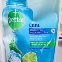 Dettol bodywash 410ml 410 ml 410g refill kemasan isi ulang