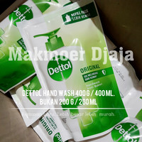 Dettol Hand Wash 400g Original Sabun Cuci Tangan 400ml Handwash 400 ml