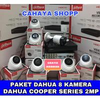 PAKET CCTV DAHUA 16 CHANNEL 8 KAMERA 2MP KOMPLIT HDD 2TB