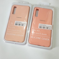 Samsung A7 2018 A750 Soft Silicone Rubber Back Cover Case