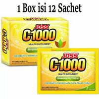 JOSS C 1000 (Isi 12 Sachet) Vitamin C1000 mg / C-1000 / C - 1000