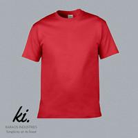 Kaos Polos Merah Cabe Cotton Combed 30s Asli 100% Cotton