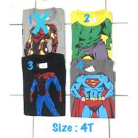 Kaos anak laki 2 tahun baju anak santai amigos branded sisa eksport