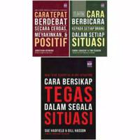 Paket 3 Buku - Cara Bersikap Tegas,Cara Tepat Berdebat,Cara Berbicara