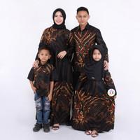 batik keluarga family motif sultan emas