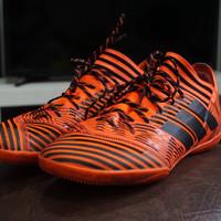 Sepatu Futsal Adidas Nemeziz Tango 17.3 Solar Orange IN Original