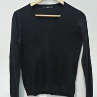 *Preloved* Sweater Sweatshirt Mango V Neck Cardigan Rajut