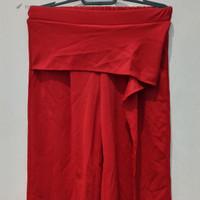 *Preloved* Celana Cullotes Kulot Magnolia Rumbai Merah