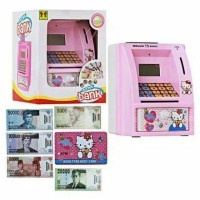 Mainan ATM Bank Hello Kitty Bahasa Indonesia - ATM Bank Game