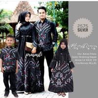 batik keluarga family motif sultan hitam