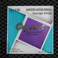 Orphee QA150 - Senar Gitar Akustik Murah Extra Light 010 - 050