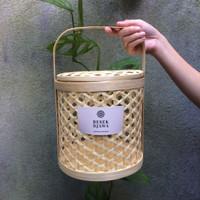 Hampers Keranjang Bambu Rantang Bambu Besek Bambu Anyaman Bambu