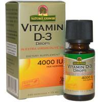 nature's natures answer vitamin d3 vit d3 4000iu 4000 iu drops 15 ml