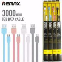 Remax kabel iphone ipon lightning casan charger apple panjang 3 meter