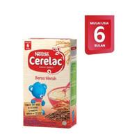 Nestle Cerelac Bubur Sereal Susu Beras Merah 120 gr