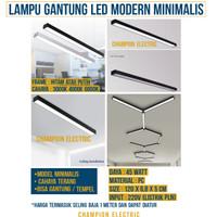 Lampu Gantung LED Modern Minimalis Rumah Cafe Kantor Pendant Lighting