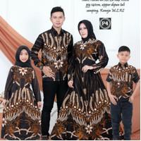 batik keluarga family motif padi